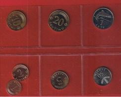 Lettonie  --  Lot De 7 Monnaies --  état  SUP-SPL - Latvia