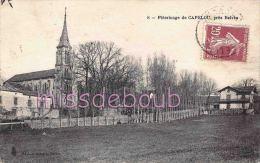 24 - BELVES  -  Pelerinage De Capelou - 1925 -  2 Scans - France