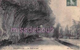 24 - BOURDEILLES  - Route De  LIsle  - 2 Scans - France