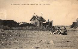 La Plage Et La Villa Paul Maurice - Bretignolles Sur Mer