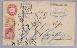 Heimat BE BLANKENBURG 1877-01-31 Nachnahme Tübli Brief Nach Langenthal 10+20+20Rp - Lettres & Documents