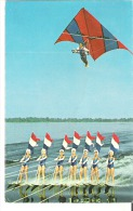 Breathtaking Precision On Water, The Famed Cypress Gardens Water Shiers And Kite. - Ski Nautique