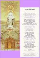 Marque-page °° Religion ° Acte De Consécration Chapelle N-D Paris  °-°  6 X 15 - Bladwijzers