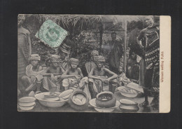 Gold Coat PPC 1912 Women Selling Fufui Accra To France - Ghana - Gold Coast