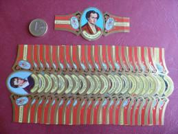 Lotto 22 Etichette Sigari ALVARO Serie Pintores Espana Spagna - Etichette