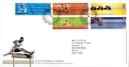 GROSSBRITANNIEN GRANDE BRETAGNE GB 2002 COMMONWEALTH GAMES FDC SG 2299-03 MI 2033-37 SC 2059-63 YV 2353-57 - 1952-.... (Elizabeth II)