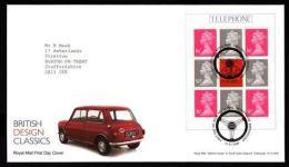 GB 2009 BRITISH DESIGN CLASSICS PRESTIGE BOOKLET FDC - 1952-.... (Elizabeth II)