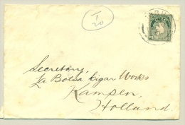 Nederland - 1931 - 10+2,5 Cent Strafport Op Brief Uit Cobh / Ireland - White Star Line - Cartas