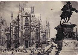 Lombardia, Milano 1967, Piazza Duomo,circolato 1967 - Milano