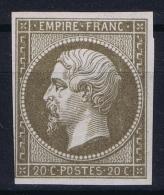 France: Essais Yv 14 SG - 1853-1860 Napoleone III