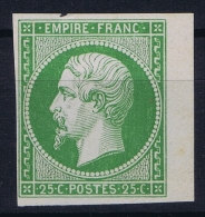 France: Essais Yv 15 SG - 1853-1860 Napoleon III