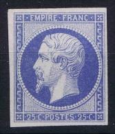 France: Essais Yv 15 SG - 1853-1860 Napoleone III
