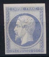 France: Essais Yv 15 SG - 1853-1860 Napoléon III.