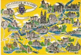 CP NEUVE - CHATEAUX DE LA LOIRE - Non Classés