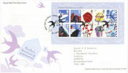 GB 2010 BUSINESS AND CONSUMER SHEET MS FDC SG MS3024 MI 2874-83 SC SH2744 IV BF69-3247-56 - 1952-.... (Elizabeth II)