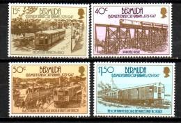 BERMUDES   N°  498/01   * *   ( Cote 11e )  Train - Eisenbahnen