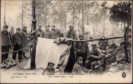 LL 533: GUERRE 1914-1915 ~ EN ARGONNE ~ LA CUISINE DE NOS POILUS - War 1914-18