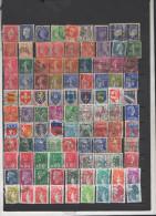 FRANCE Lot D´une Centaine  De Timbres  Oblitérés - Stamps