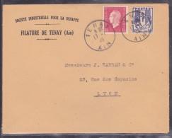 France Type Dulac Sur Lettre - 1944-45 Maríanne De Dulac