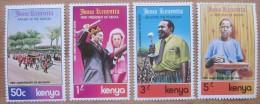 A9773- Kenya - 1979 - Sc. 150-153 - MNH - Kenia (1963-...)