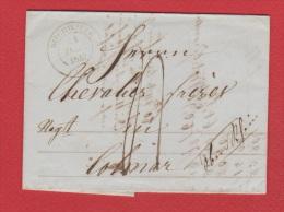 A  //  Facture //  De Bischwiller  //  Pour Colmar //  21 Décembre 1847 - Marcophilie (Lettres)