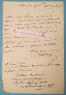L.A.S C.F PERSONNE DESBRIERES - Bonneuil Sur Marne Coutelier De Louis XV Prevost Dupont-Cholet Raincy Lettre Autographe - Autographes