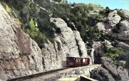 MONTSERRAT (Barcelona) - Tunel Y Ferrocaril De Cremallera - Barcelona