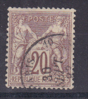 FRANCE/SAGE N° 67  OBLITERE - France