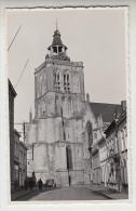 Poperinge St Bertinuskerk fotokaart van kuntschatten, op agfa papier. Reeks priv� foto�s (pk22677)