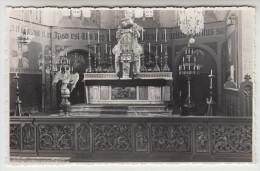 Poperinge St Bertinuskerk fotokaart van kuntschatten, op agfa papier. Reeks priv� foto�s (pk22701)