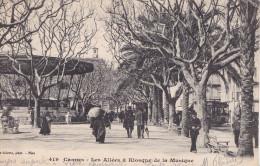 CANNES  KIOSQUE DE LA MUSIQUE (DIL66) - Bâtiments & Architecture