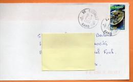 MAURY N° 3637   LES HUITRES   Lettre Entière 110x220 N° K 490 - Marcophilie (Lettres)