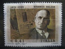 ITALIA USATI 2003 - BALZAN - SASSONE 2698 - RIF. G 0199 - 6. 1946-.. Repubblica