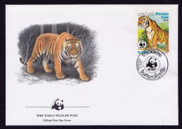 Tigre - Laos - FDC