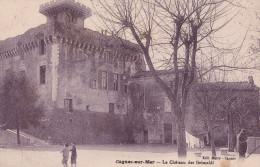 CAGNES SUR MER  LE CHATEAU DES GRIMALDI  (DIL66) - Cagnes-sur-Mer