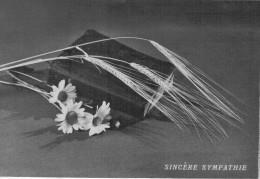 BIGLIETTO   SINCERE SYMPATHIE   (USATO) - Avvisi Di Necrologio