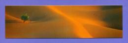 Marque-page °° Instants Du Monde - Tunisie Dune De Tenbaïm V.à écrire   5 X 18 - Marque-Pages