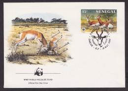 Gazelle - Senegal - FDC