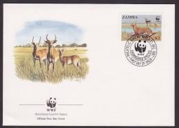 Gazelle - Zambia - FDC