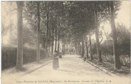 Mayenne : St Berthevin, Avenue De L'Eglise - Altri Comuni