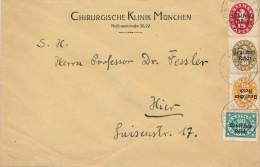 MÜNCHEN - 1922 , Chirurgische Klinik ...  -   Dispatch: Big Letter - Officials