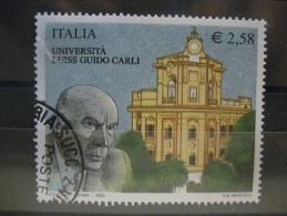 ITALIA USATI 2003 - 19 SCUOLE D´ITALIA LUISS CARLI - SASSONE 2686 - RIF. G 0213 - 6. 1946-.. Repubblica
