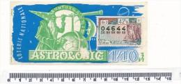 Billet De La Loterie Nationale - Astrologie, 1961 - Billetes De Lotería