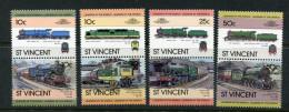 St. Vincent : Histor. Lokomotiven 1983; Postfrisch/MNH - Trains