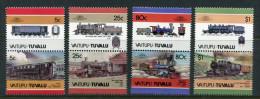 TUVALU-Vaitupu: Histor. Lokomotiven 1984; Postfrisch/MNH - Trains