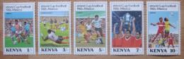 A9787 - Kenya - 1986 - Sc. 369-373 - MNH - Kenia (1963-...)