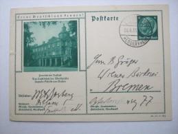 1935  , Bildkarte , Verschickt  ,  P 233  , Randrisschen - Germany