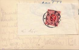 RRR! (3 Scans) 50 H Nachporto Auf Ak BAD HINTERTUX, Gel.1936, 24 Gro Frankierung, Aufgeklebter Nachportozettel - Cartas