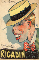 Artiste Music-hall : Rigadin Illustrateur Pech (inspiré Par Maurice Chevalier) - Advertising