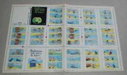 Mini Récits Spirou Du N° 1509 (358) Cabanon Est Dans Le Bain Non Monté - Spirou Magazine
